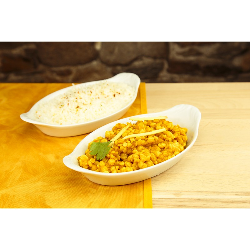 Daal makni + riz (photo non contractuelle)