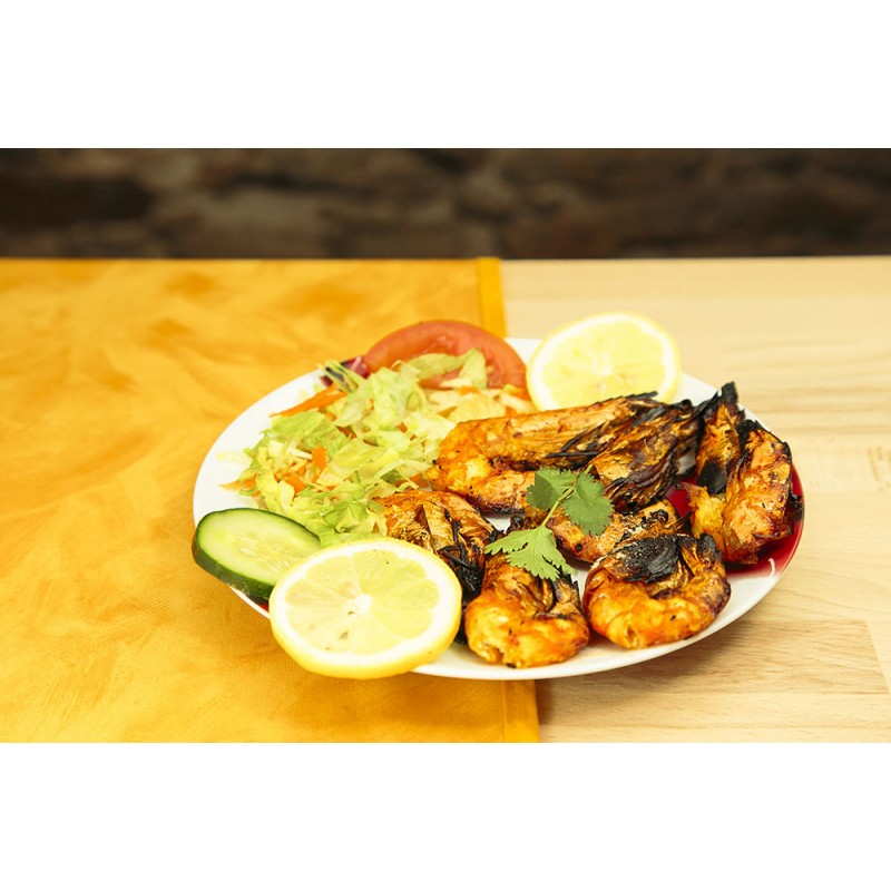 Gambas tandoori (photo non contractuelle)