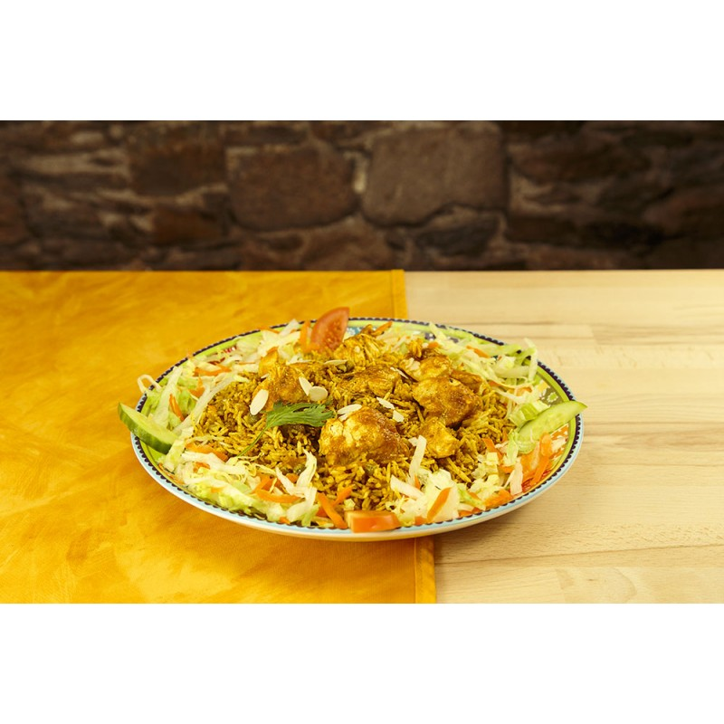 Poulet biryani (photo non contractuelle)
